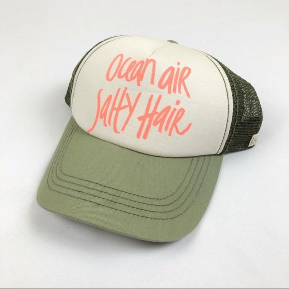 70e0b60c216693 Billabong Accessories - BILLABONG | GREEN AND WHITE TRUCKER HAT